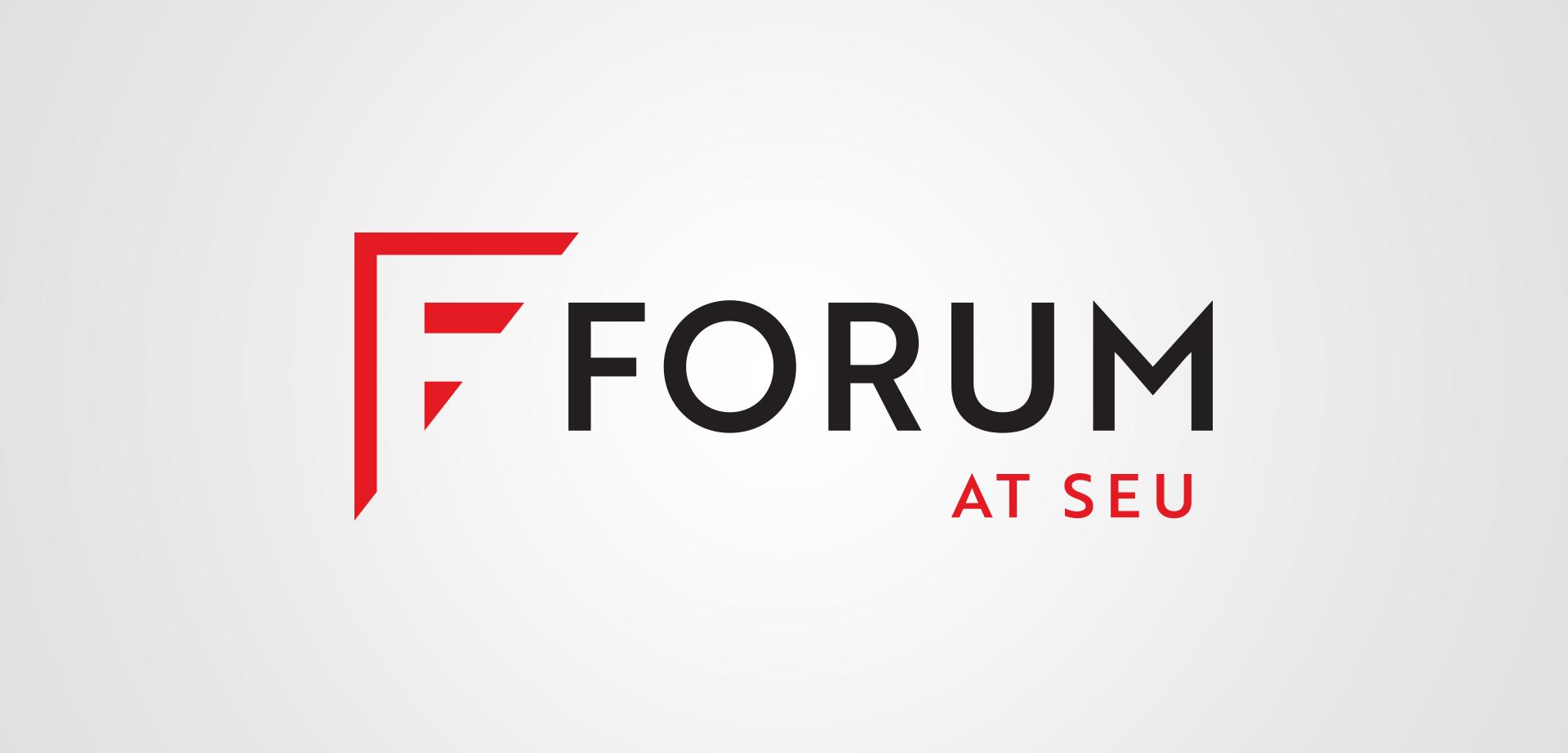 Southeastern University Forum at SEU Logo Design Silver Addy Award for MADE
