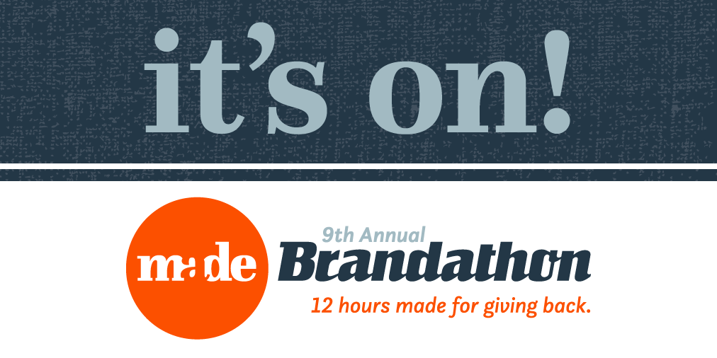 MADE Brandathon Its On Graphic