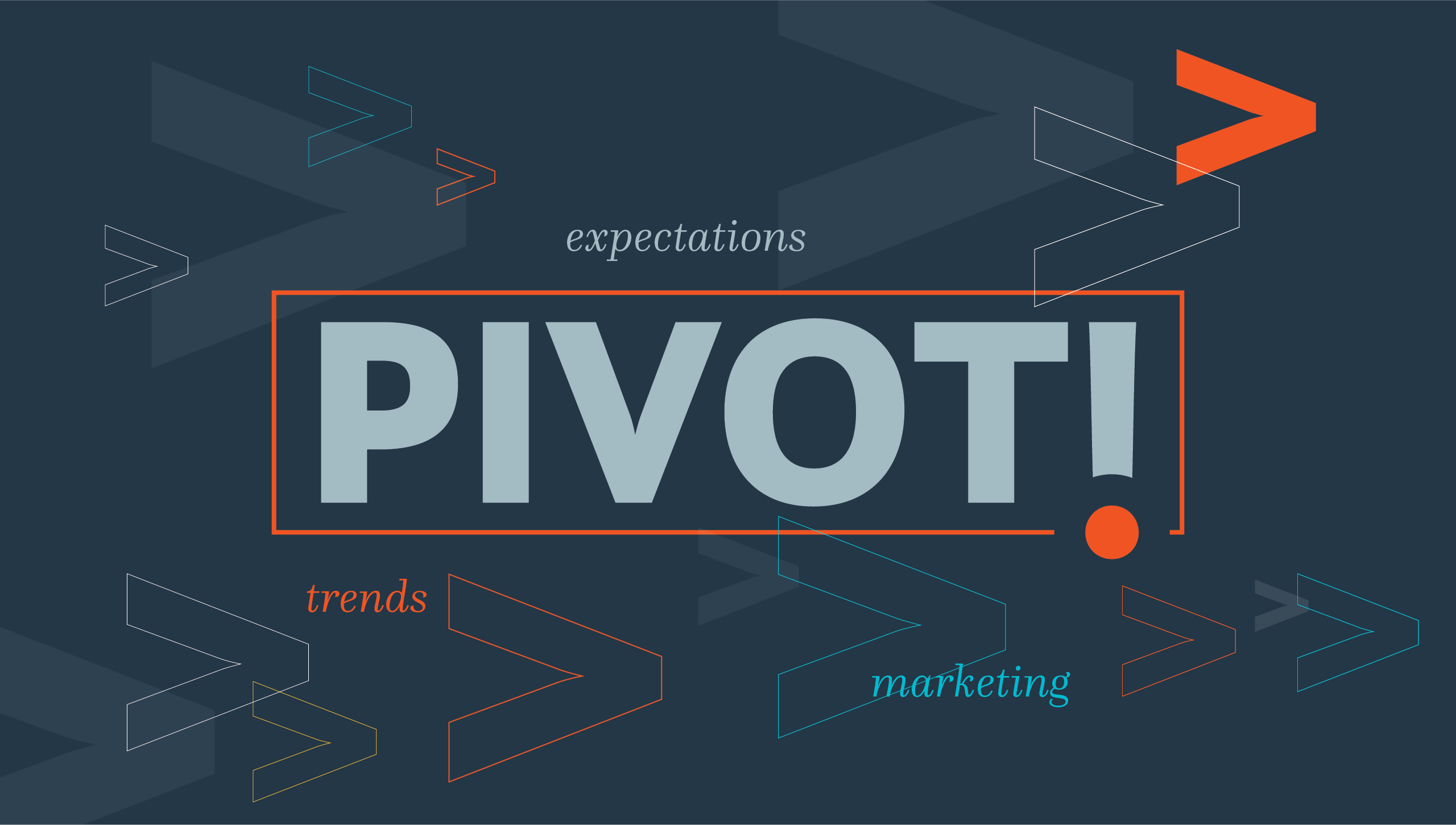 Pivot marketing expectations